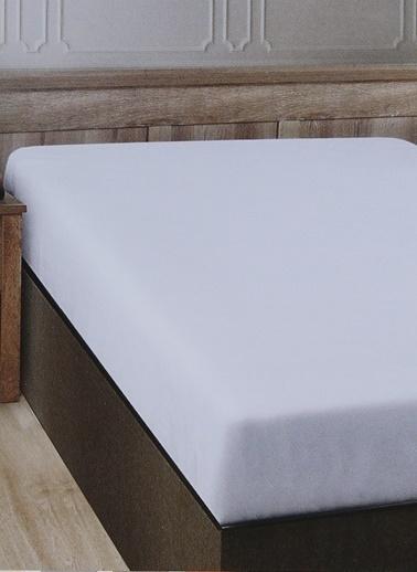 Boyner Evde Boyner Evde 240 x 260 cm  Çift Kişilik Beyaz Düz Çarşaf Beyaz